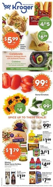 Catalogue Kroger from 09/15/2021