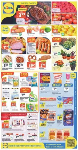 Catalogue Lidl from 10/20/2021