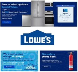 Catalogue Lowe's from 10/18/2021