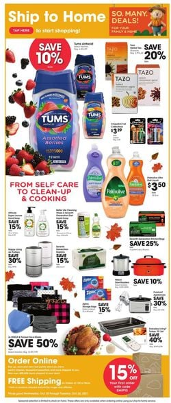 Catalogue Kroger from 10/20/2021