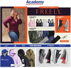 Catalogue Academy Sports from 10/04/2021