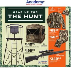 Catalogue Academy Sports from 10/25/2021