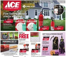 Catalogue Ace Hardware Halloween 2021 from 10/01/2021