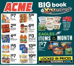 Catalogue Acme Halloween 2021 from 10/08/2021