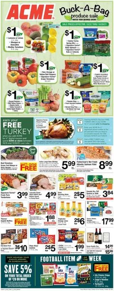 Catalogue Acme from 10/22/2021
