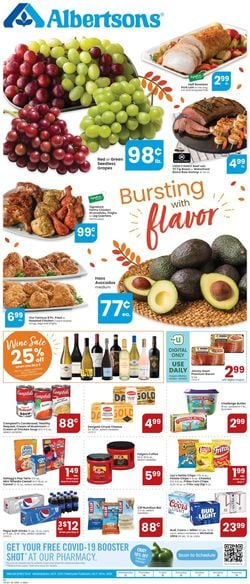 Catalogue Albertsons from 10/13/2021