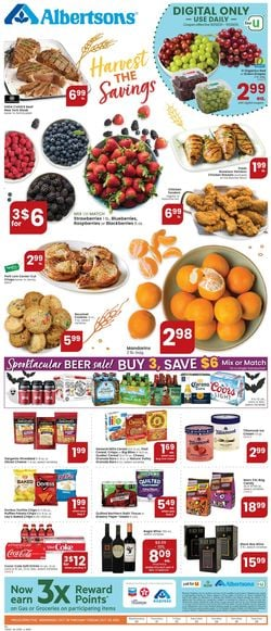 Catalogue Albertsons from 10/20/2021