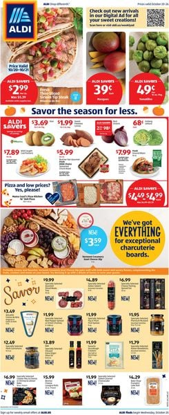 Catalogue ALDI from 10/20/2021