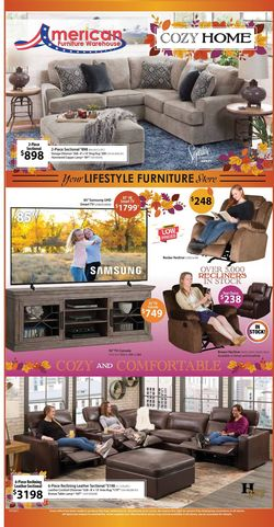 Catalogue American Furniture Warehouse from 10/11/2021