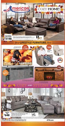 Catalogue American Furniture Warehouse from 10/06/2021