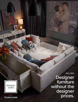 Catalogue American Signature Furniture from 08/01/2021