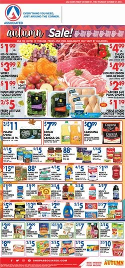 Catalogue Associated Supermarkets from 10/01/2021