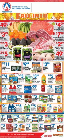 Current weekly ad Associated Supermarkets