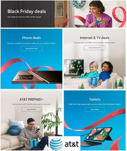 Catalogue AT&T Black Friday 2020 from 11/12/2020
