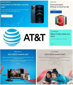 Current weekly ad AT&T