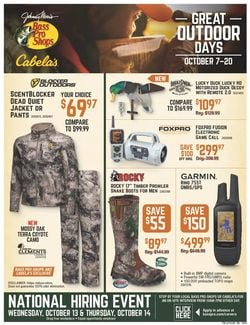 Catalogue Bass Pro from 10/07/2021