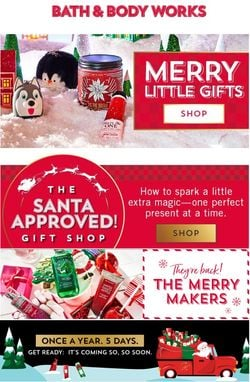 Catalogue Bath & Body Works Black Friday 2020 from 11/10/2020