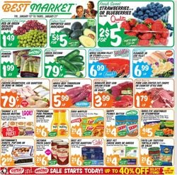 Catalogue Best Market from 01/15/2021