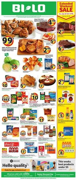 Catalogue BI-LO from 02/24/2021