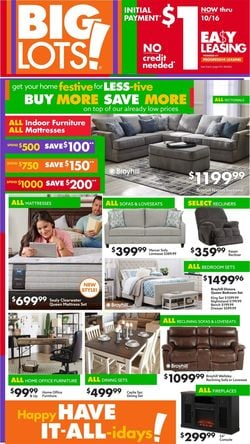 Catalogue Big Lots Halloween 2021 from 10/07/2021