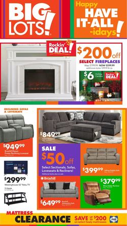 Catalogue Big Lots Halloween 2021 from 10/17/2021