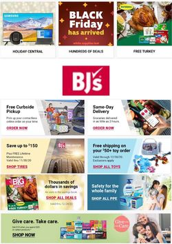 Current weekly ad BJ's