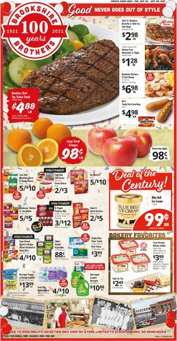 Catalogue Brookshire Brothers from 09/22/2021