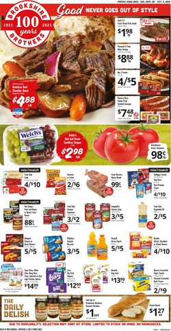 Catalogue Brookshire Brothers from 09/29/2021