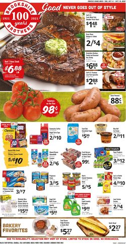 Catalogue Brookshire Brothers from 10/06/2021