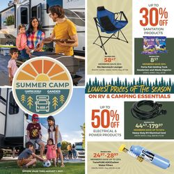 Current weekly ad Camping World