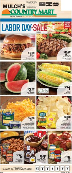 Catalogue Country Mart from 08/31/2021