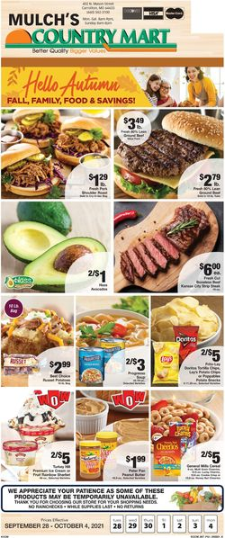 Current weekly ad Country Mart