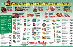 Current weekly ad County Market