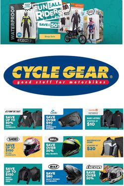 Catalogue Cycle Gear from 11/26/2019