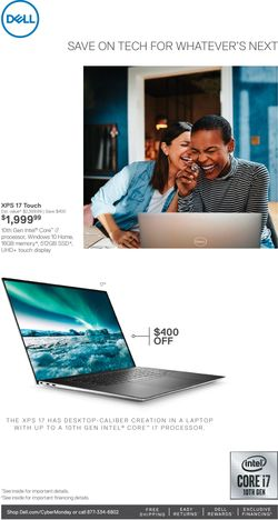 Catalogue Dell Cyber Monday 2020 from 11/29/2020