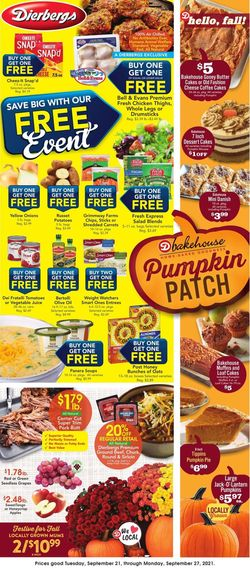 Catalogue Dierbergs from 09/21/2021