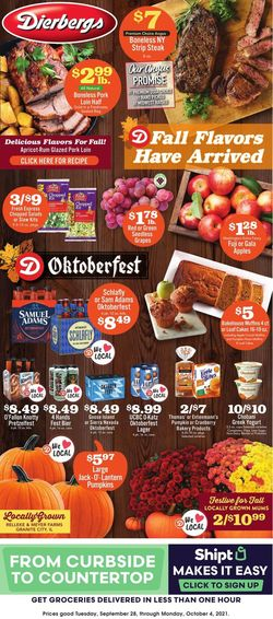 Catalogue Dierbergs from 09/28/2021