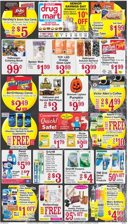 Catalogue Discount Drug Mart Halloween 2021 from 10/06/2021