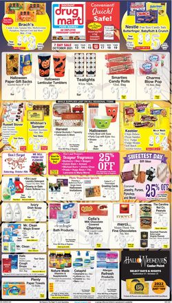 Catalogue Discount Drug Mart Halloween 2021 from 10/13/2021