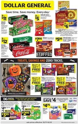Catalogue Dollar General Halloween 2021 from 10/17/2021