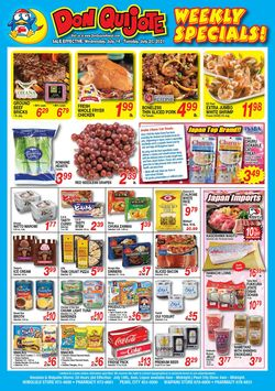 Catalogue Don Quijote Hawaii from 07/14/2021