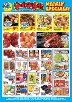 Catalogue Don Quijote Hawaii from 08/18/2021