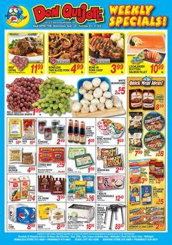 Catalogue Don Quijote Hawaii from 09/29/2021