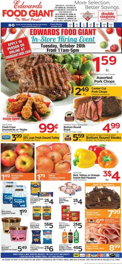 Catalogue Edwards Food Giant from 10/13/2021