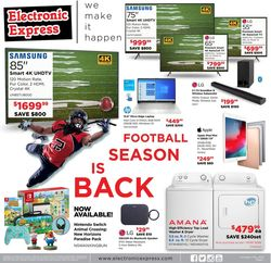 Current weekly ad Electronic Express