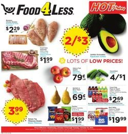 Catalogue Food 4 Less from 10/13/2021