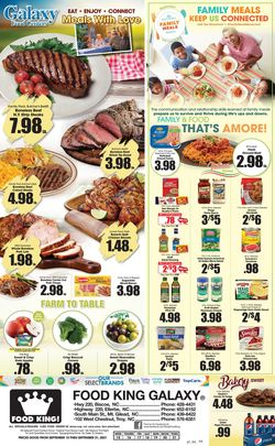 Catalogue Food King from 09/15/2021