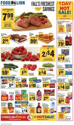 Catalogue Food Lion from 09/29/2021