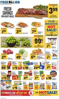 Catalogue Food Lion from 10/06/2021