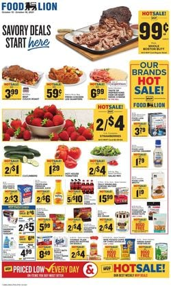 Catalogue Food Lion Halloween 2021 from 10/13/2021